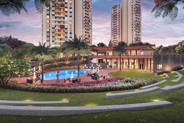 luxury apartments in Joyville Manjri